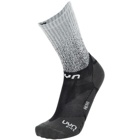 UYN Aero Cycling Socks Men black/white